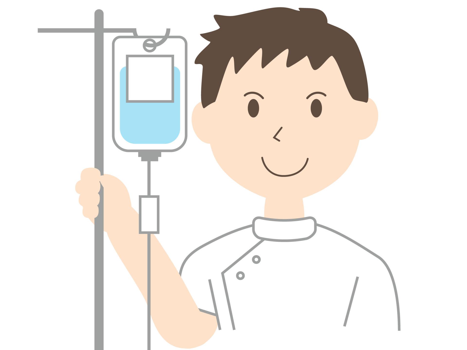 静脈内鎮静法は点滴で少しずつ薬を投与します。